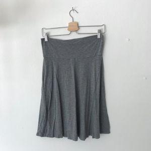 Gap Grey Midi Skirt